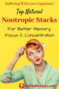 natural nootropics for memory, focus and concentration