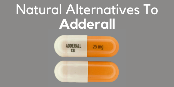 natural alternative to adderall